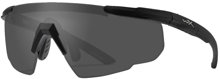 Wiley X Saber in Matte Black Frame with Smoke Gray Lenses, WX-302