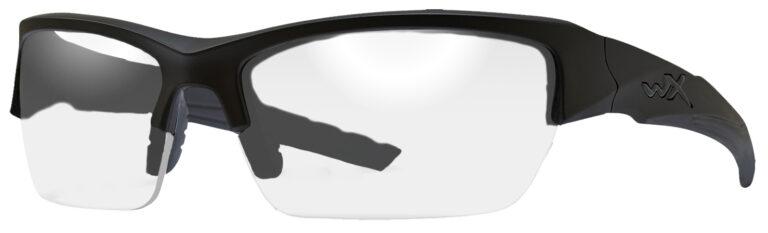 Wiley X Valor in Black Ops Matte Black Frame, Angled Side Left