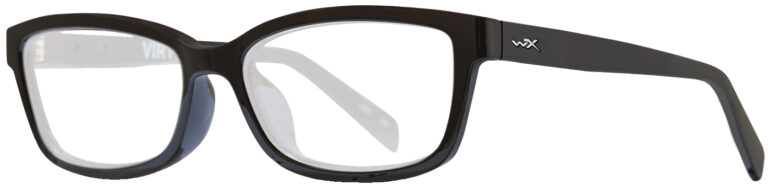 Wiley X Worksight Virtue in Gloss Black Frame, Angled Side Left