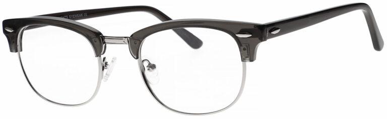 Real Glass Clubster Frame Reading Glasses
