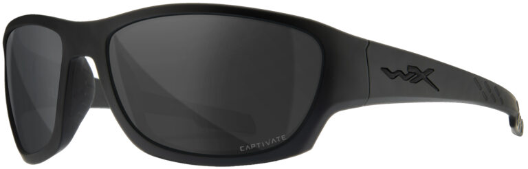Wiley X Climb in Matte Black Frame with Smoke Gray Lens, WX-ACCLM01
