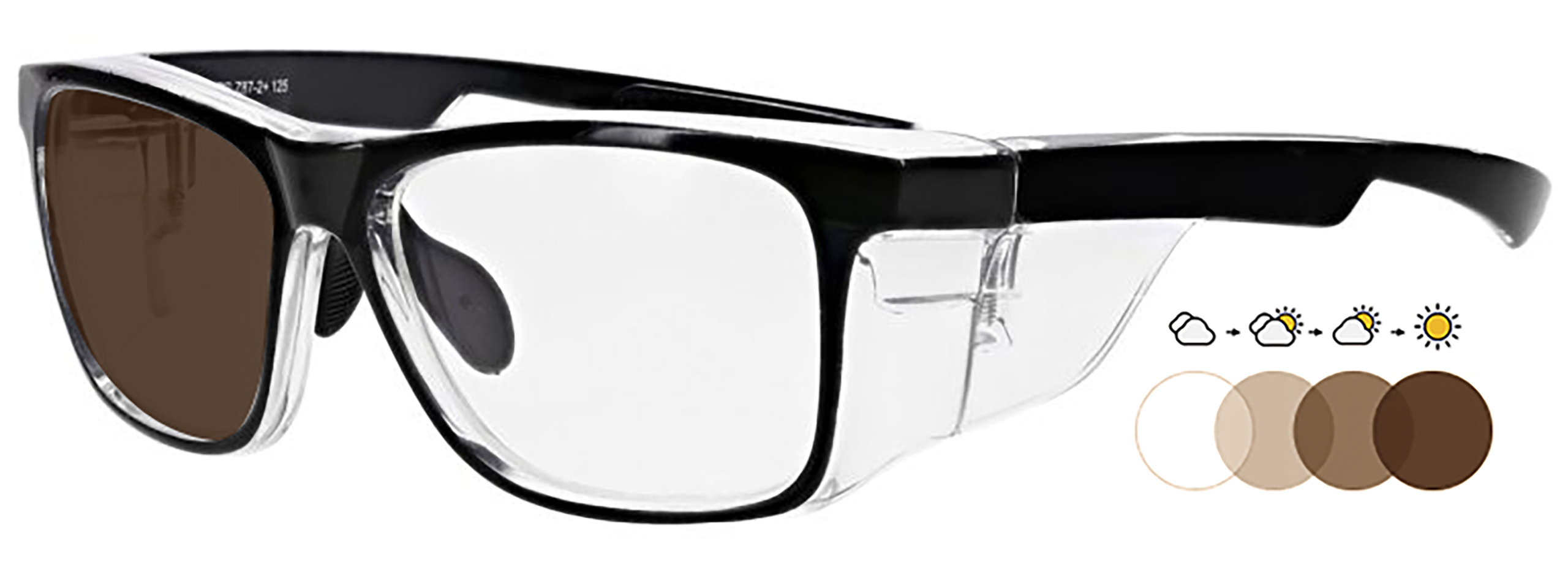 15011 transition brown lens option - RX Safety