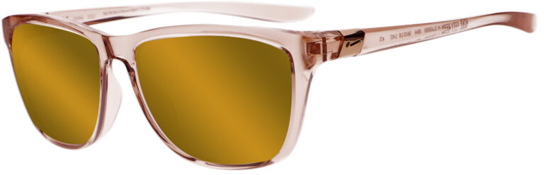 Nike City Icon - Washed Coral Brown Frame with Brown Copper Lens