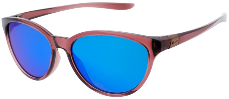 Nike City Persona Smokey Mauve Frame with Gray Turquoise Lens, Angled to the Left Side