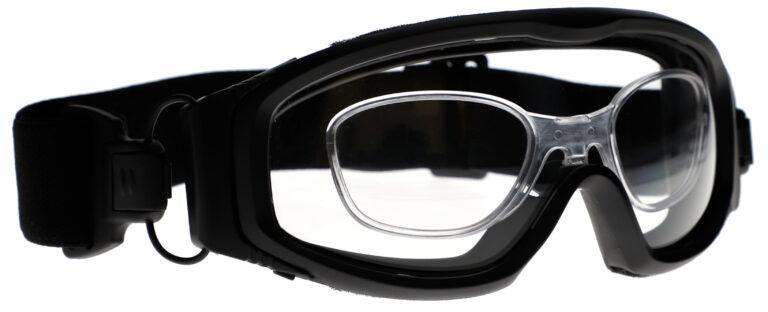 GP04 Prescription Safety Glasses Angle Right
