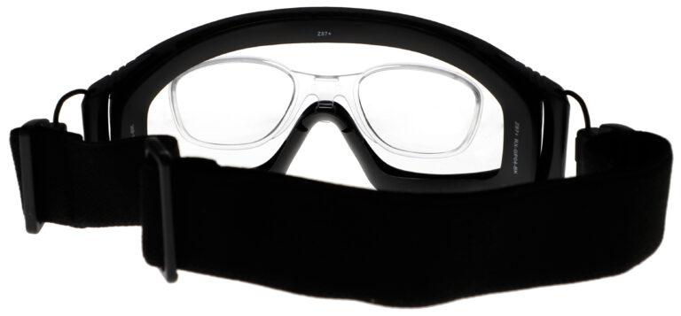 GP04 Prescription Safety Glasses Back