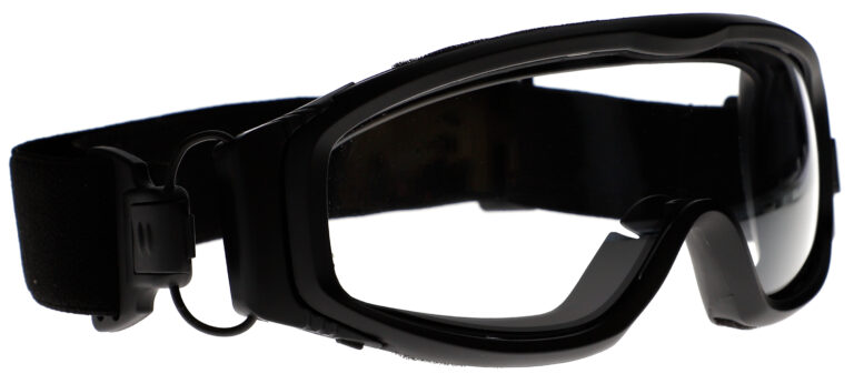 RX GP04 Safety Goggles Angle Right